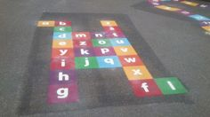 Playground Games Markings