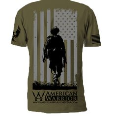 American Warrior T-Shirts Are  Proudly Made in the USA! #MadeinAmerica #KeepAmerica #AmericanWarrior