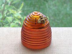 Vintage Avon Honey Bee Perfume Bottle via Etsy
