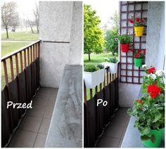 Dekoracja małego balkonu