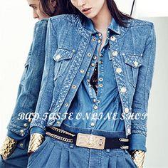 Paris-Luxury-Brand-Designer-Tie-Dye-Cotton-Denim-Shirt-Women-s-Long-Sleeve-Metal-Golden-Embossed.jpg (379×379)