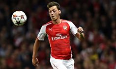 Mesut Özil arrived at Arsenal a year ago and was part of Germany's World Cup-winning squad in Brazil