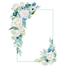 Floral Wallpaper Phone, Flower Background Wallpaper, Flower Backgrounds, Wallpaper Backgrounds, Plant Wallpaper, Frame Floral, Flower Frame, Wedding Cards, Wedding Invitations