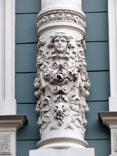 Jugendstil (Art Nouveau) Riga, Latvia