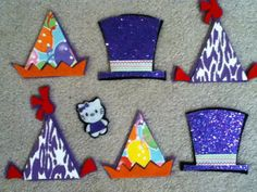 Piper Loves the Library: Kitty Cat, Kitty Cat, are you in the Magic Hat? Piper Loves the Library: Kitty Cat, Kitty Cat, are you in the Magic Hat? Felt Board Stories, Felt Stories, Balloon Hat, Balloons, Mad Hatter Day, Baby Storytime, Baby Programs, Magic Hat, Flannel Boards
