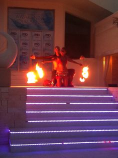 Fire dance for your wedding