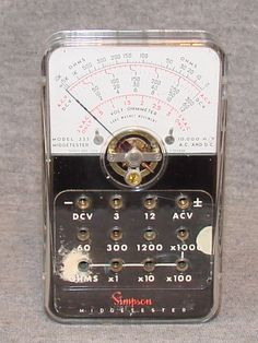 Simpson 355 - Volt - Ohmmeter