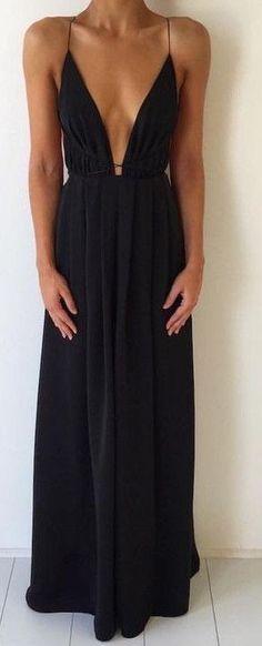 Black Maxi Dress                                                                             Source