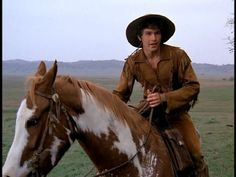 Kid on his beloved horse, Katy. The Young Riders, great tv, loved this show, great guys, history, horse, hest, photo