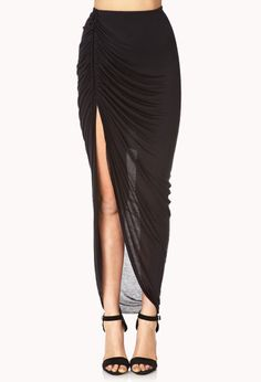 Show Off Asymmetrical Skirt | FOREVER21 Maximum cuteness #MustHave #MaxiSkirt #Cute