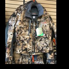 One of our few Sitka Waterfowl jackets we carry. If you wanna be the best you gotta wear the best