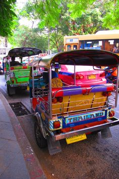 We rode the tuk tuks daily for over two years in the mid-70s - as scary then as it is now.