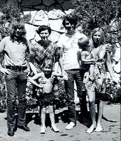 Michael Nesmith & family