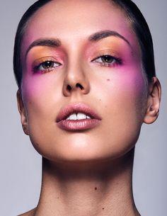 Marianne Mariaud shot by Juho Lehtonen / Studio / Beauty Editorial, Beauty Photography, Monochrome, Beauty Makeup, Studio, Face, Monochrome Painting, Studios, The Face
