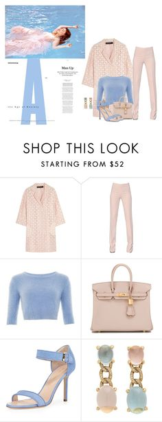"""""""Untitled #577"""" by babyromy ❤ liked on Polyvore featuring Roland Mouret, Antonio Berardi, Hermès, Sergio Rossi, Faraone Mennella by R.F.M.A.S., women's clothing, women's fashion, women, female and woman"""