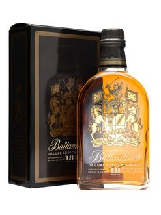 Ballantines 18 Year Old Deluxe / Bot.1980s : Buy Online - The Whisky Exchange - An old and excellently presented bottle of Ballantines 18 year old Deluxe blended whisky, that we think was released some time in the 1980s.