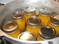 Pumpkin Canning! I need to try this!