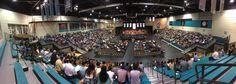 A panorama of the HTC Center. #CCU #CCU15: