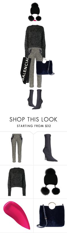 """IT!"" by maria-laura-correa-da-silva ❤ liked on Polyvore featuring Balenciaga, Isabel Marant, Inverni, Kevyn Aucoin and LC Lauren Conrad"