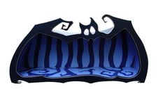 Tanzschrank Batcave von Raxfox auf Etsy