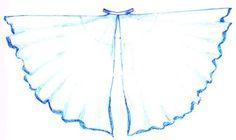 Из чего сделать костюм к танцу с крыльями