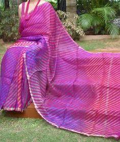 Kota Silk Saree, Silk Sarees, Digital Camera, Hand Weaving, Tie Dye, Beautiful, Color, Hand Knitting