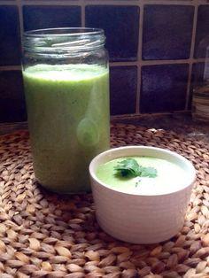Cucumber Buttermilk Soup
