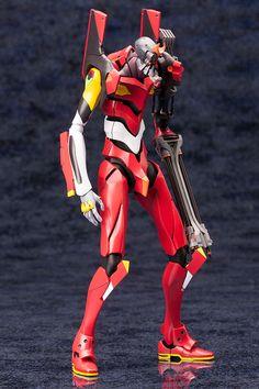 Neon Genesis Evangelion figurine Plastic Model Kit Unit 02 Kotobukiya