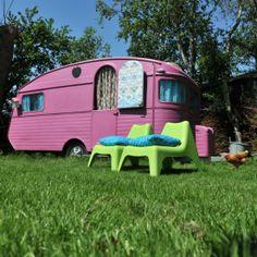 De roze caravan