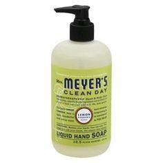 Mrs. Meyer's Clean Day Lemon Verbena Liquid Hand Soap 12.5 oz