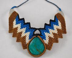 Macrame Necklace Colors Of Etnika Tulsa, Oklahoma