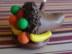 Thanksgiving Cornucopia Cake Pops   by Cake Pop lady
