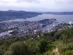 Bergen z góry