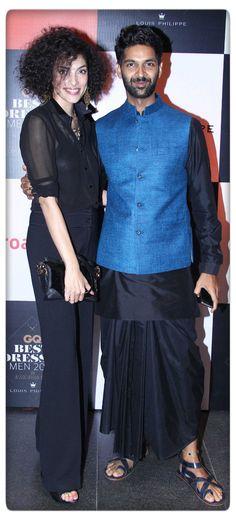 Purab Kohli in Anita Dongre menswear at the GQ India awards