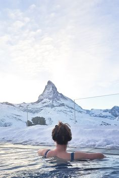 Zermatt Switzerland Riffelalp Resort Europe's highest pool