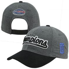 half off ce667 11939 Top of the World Tulsa Golden Hurricane 2012 C-USA Football Champions  Locker Room Adjustable Hat - Gray Black