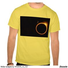 Solar eclipse tees - Click on photo to view item then click on item to see how to purchase that item. #tshirts #eclipse #solareclipse #recovery #therapy #heartattackrecovery #zazzle