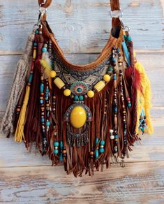 47753c5cc3d Boho inspired, eclectic pieces of wearable art. by AlisoBay. Gypsy BagBoho  GypsyHippie ChicHippie StyleBohemian ...