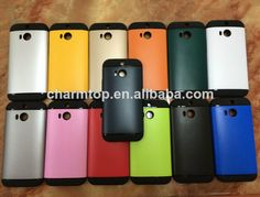 Hybrid PC TPU Case Cover for HTC One M8  1.PC + TPU  2.Competitive Price   3.Fast delivery  4.Paypal is acceptable