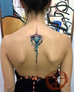 Incredibly Artistic Abstract Tattoo Designs (29)
