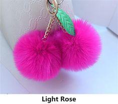 Rose YNuth Kawaii Porte-cl/é Pendentif Licorne Pompon