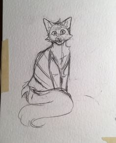 WIP// I need to practice different poses more lol. I had to draw the pose super quick cuz I was looking at my cat and I had a very limited time before she moved //☆Kåt☆ ( Animal Sketches, Animal Drawings, Art Drawings, Warrior Cat Drawings, Warrior Cats Art, Cat Drawing Tutorial, Cat Oc, Cat Anatomy, Cat Character
