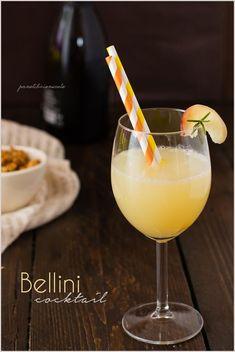Cocktail Bellini alla pesca - Peach Bellini Cocktail