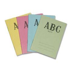 ABC notebooks