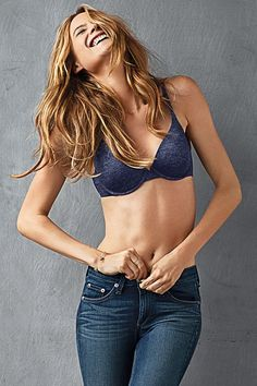 There's nothing better than the perfect fit. #fact // Victoria's Secret T-Shirt Bra ~one of my favs!