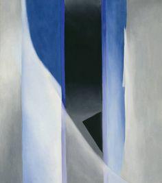 Georgia O'Keeffe - Blue II, 1958.