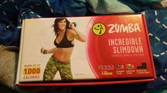 My Brand New Zumba Incredible Slimdown Cardio Dance System That I Just Bought Today From Showcase!😄😊☺😉😍😘❤💜💙💚💛💘💞💖💕💗💓💌💋💎💍👣💝🎍