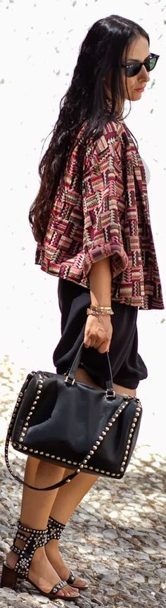 Ethnic Kimono by With Or Without Shoes