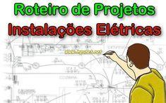 Roteiro de projetos de Instalações Elétricas, Veja em detalhes no site http://www.mpsnet.net/loja/index.asp?loja=1&link=VerProduto&Produto=239 #cursos via @mpsnet