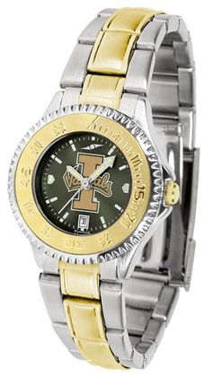 Idaho Vandals Womens Competitor Two Tone Anochrome Watch
